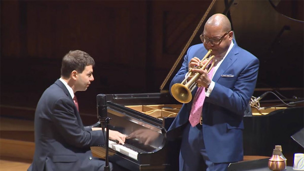 Musical Opening by Wynton Marsalis - Vision & Justice: Radcliffe Institute for Advanced Study at Harvard University