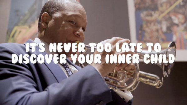 Wynton Marsalis Surprises Youngsters with Impromptu JAZZ FOR KIDS Performance