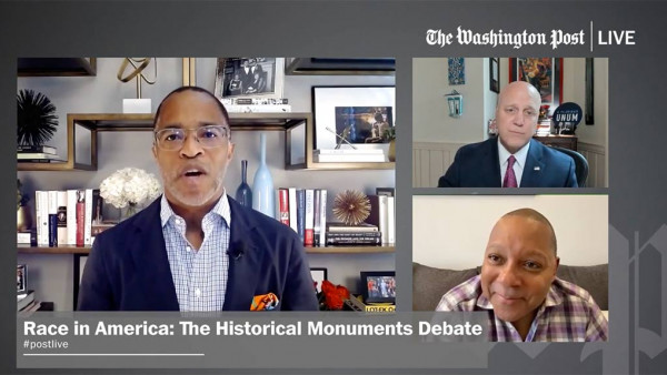 The Historical Monuments Debate with Mitch Landrieu and Wynton Marsalis - Washington Post