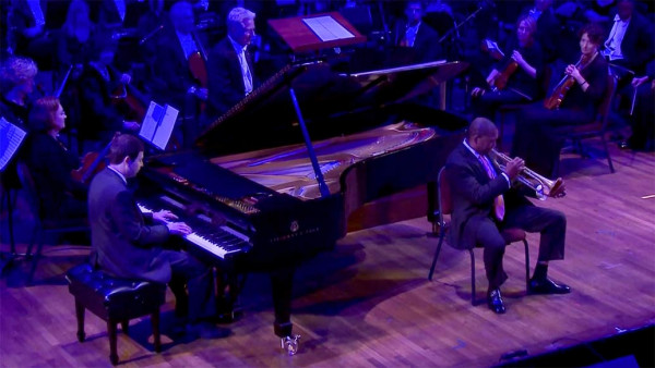 Tom Cat Blues - Wynton Marsalis and Dan Nimmer at Kennedy Center