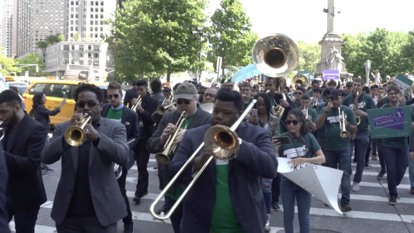 """United We Swing"", Second Line Parade for Essentially Ellington Competition 2017"