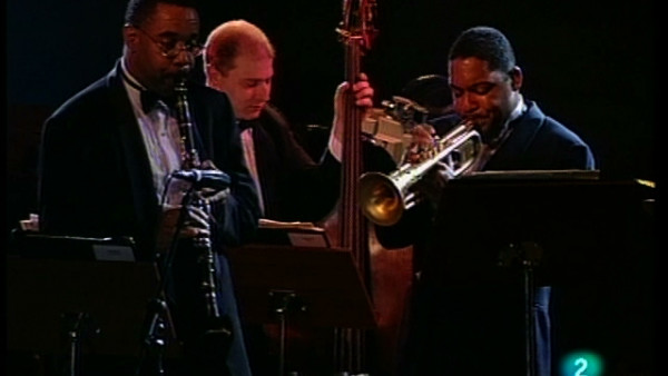 Wild Man Moore - JLCO with Wynton Marsalis at Vitoria Jazz Festival 1995