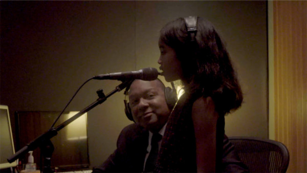 Winter Wonderland (behind the scenes) - Wynton Marsalis Quintet with Oni Marsalis