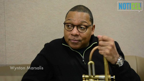Wynton Marsalis' interview for NOTICEL in Puerto Rico