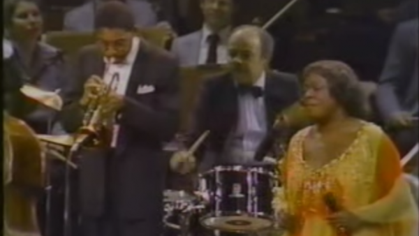 Autumn Leaves - Wynton Marsalis with Sarah Vaughan with The Boston Pops