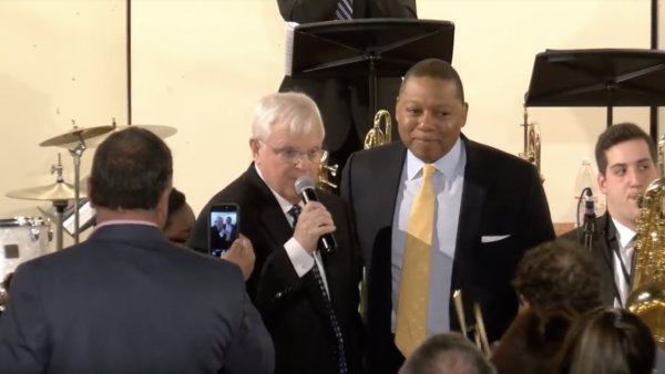 Wynton Marsalis' surprise visit to honor Steve Massey