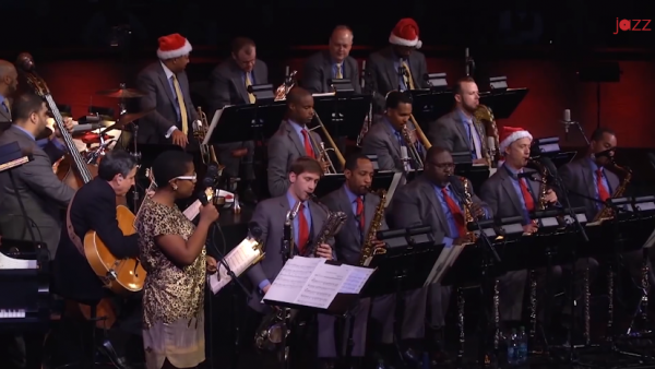 It's Easy to Blame the Weather - JLCO with Wynton Marsalis and Cecile McLorin Salvant (2013)