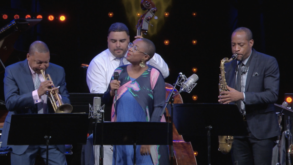 Doudou - Wynton Marsalis Quintet featuring Cécile McLorin Salvant at Jazz in Marciac 2017