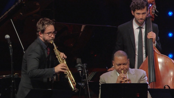 Temptation Rag - Émile Parisien group with special guest Wynton Marsalis at Jazz in Marciac 2017