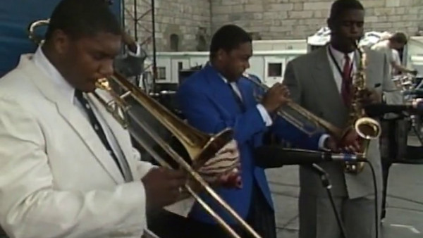 The Majesty of The Blues - Wynton Marsalis Sextet at Newport Jazz Festival 1989