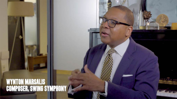 "Wynton Marsalis breaks down ""Swing Symphony"" (Part 6)"