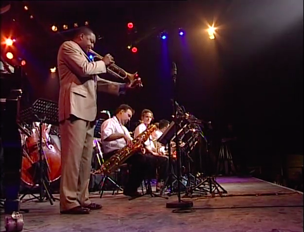 Wynton Marsalis with Jazz in Marciac Big Band