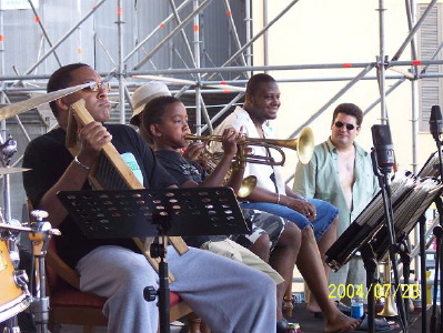 Two Marsalis' generations playing in Fano