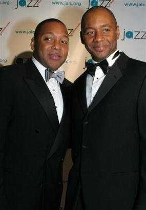 Wynton and Brandford Marsalis