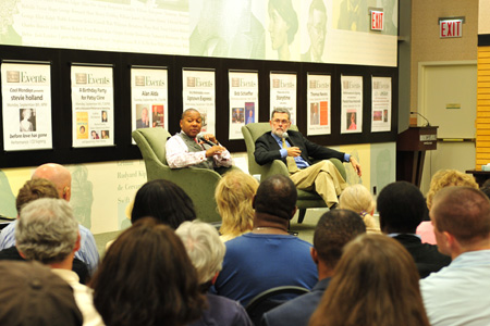 Wynton at Barnes & Noble to discuss and sign his new book
