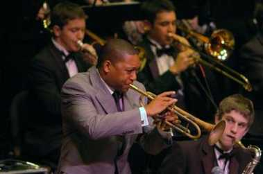 Wynton Marsalis joins the guys from Roosevelt high school.