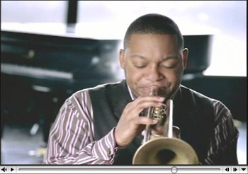 Wynton in the new TV ad: Fall in Love with Louisiana All Over Again