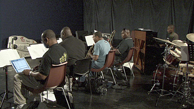 Wynton Marsalis rehearsing with his Septet for Marciac 2007