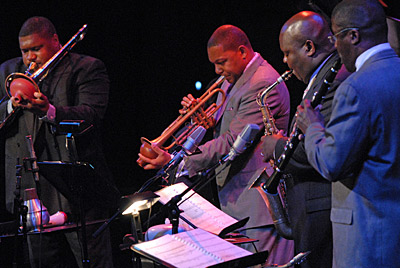 The Wynton Marsalis Septet playing: In This House, On This Morning