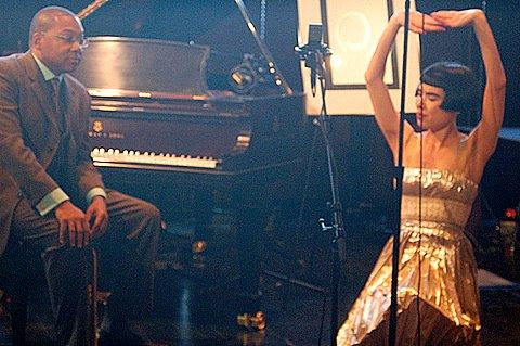 Wynton Marsalis and Drue Kataoka